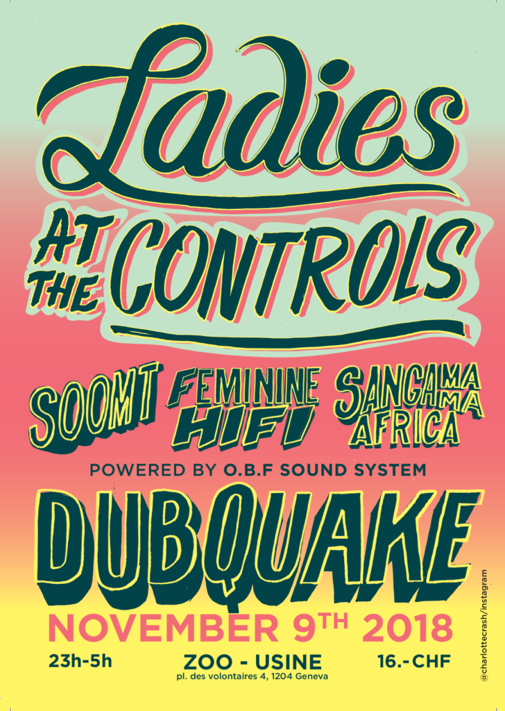 dubquake genève Ladies at the controls